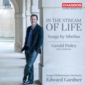 Album artwork for In the Stream of Life: Songs by Sibelius / Finley