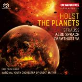 Album artwork for Holst: The Planets - R. Strauss: Also sprach Zarat