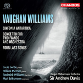 Album artwork for Vaughan Williams: Sinfonia antartica, etc