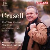 Album artwork for Crusell: Clarinet Concertos & Introduction et air