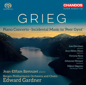 Album artwork for Grieg: Peer Gynt & Piano Concerto / Bavouzet, Gard