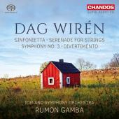 Album artwork for Wiren: Sinfonietta, Serenade for Strings, Sym.