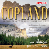 Album artwork for Copland: Orchestral Works, Vol. 3 – Symphonies