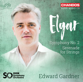 Album artwork for Elgar: Symphony No. 2 & Serenade