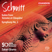 Album artwork for Schmitt: Suites from Antoine et Cléopâtre & Symp