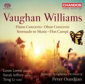 Album artwork for Vaughan Williams: Piano Concerto, Oboe Concerto, S