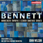 Album artwork for Bennett: Orchestral Works, Vol 1