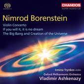 Album artwork for Borenstein: Violin Concerto, If You Will It, It Is