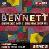 Album artwork for Bennett: Orchestral Works, Vol. 2