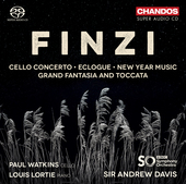 Album artwork for Finzi: Cello Concerto, Eclogue, New Year Music and
