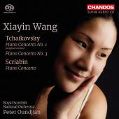 Album artwork for Tchaikovsky: Piano Concertos Nos. 1 & 3 - Scriabin