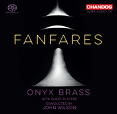 Album artwork for Fanfares / Onyx Brass