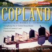 Album artwork for Copland: Orchestral Works, Vol. 4