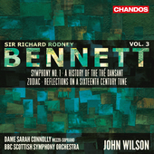 Album artwork for Bennett: Orchestral Works, Vol. 3