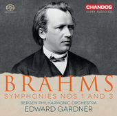 Album artwork for Brahms: Symphonies Nos. 1 & 3