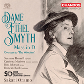 Album artwork for Ethel Smyth: Mass in D Major - Les naufrageurs: Ov