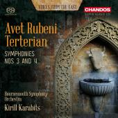 Album artwork for Terterian: Symphonies 3 & 4 / Karabits