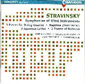 Album artwork for Stravinsky: Wind Symphonies