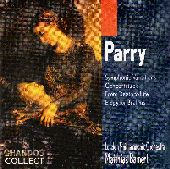 Album artwork for Parry: Symphonic Variations Concertstück/ Bamert