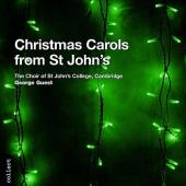 Album artwork for CHRISTMAS CAROLS FROM ST JOHN