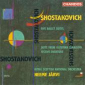 Album artwork for Shostakovich: Ballet Suites / Jarvi