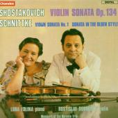 Album artwork for Shostakovich: Sonata Op. 134