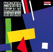 Album artwork for Prokofiev: Symphonies Nos 1 & 4 / Jarvi