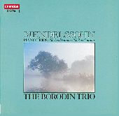 Album artwork for MENDELSSOHN - PIANO TRIOS