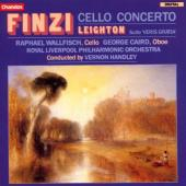 Album artwork for Finzi: Cello Concerto � Leighton: Suite