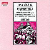 Album artwork for Dvorak: SYMPHONY NO. 3/ CARNIVAL OVERTURE