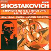 Album artwork for SYMPHONY NO. 10/ BALLET SUITE