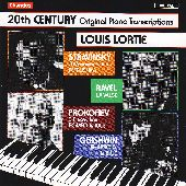 Album artwork for 20th Century Original Piano Transcriptions/ Lortie