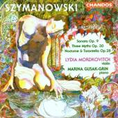 Album artwork for Szymanowski: Sonata Op.9;Three Myths Op.30