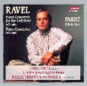 Album artwork for Ravel: Piano Concertos; Fauré: Ballade / Lortie