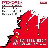 Album artwork for Prokofiev: Piano Concertos Nos 1, 4 & 5