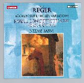 Album artwork for Reger: Bocklin Suite, Hiller Variations (Jarvi)