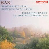 Album artwork for Bax: Piano Quintet; String Quartet No.2