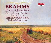 Album artwork for Brahms: Three Piano Quartets