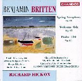 Album artwork for Britten: Spring Symphony � Welcome Ode � Psalm