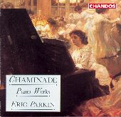 Album artwork for Chaminade: Piano Works (Parkin)