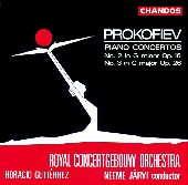 Album artwork for Prokofiev: Piano Concertos Nos 2 & 3