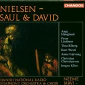 Album artwork for Nielsen: SAUL & DAVID, OP. 25