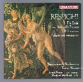 Album artwork for Respighi: 3 Botticelli Pictures, The Birds / Vasar