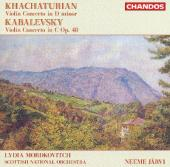 Album artwork for Khachaturian & Kabalevsky: Violin Concertos