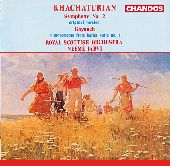 Album artwork for Khachaturian: Symphony No. 2, Gayaneh Movements