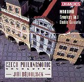 Album artwork for Martinu: Symphony No. 1 � Concerto for Double St
