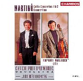 Album artwork for Martinu: Cello Concertos, Concertino (Wallfisch)