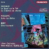 Album artwork for Poulenc/Ibert/Milhaud: Orchestral Works