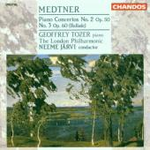 Album artwork for Medtner: Piano Concertos 2 & 3 / Jarvi