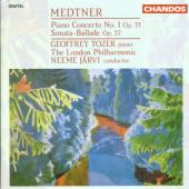 Album artwork for Medtner: Piano Concerto #1, etc